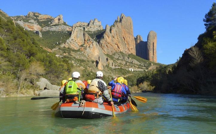 Rafting río Gállego / Canoa en pantano